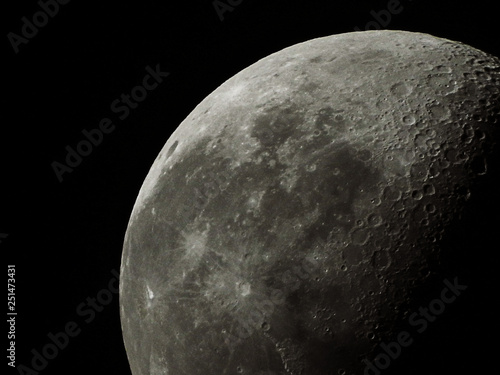 Fifty Six Percent Waning Gibbous Moon Waning Means That It Is