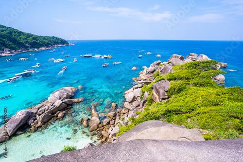 1 Febuary 2019-Thailand::Similan island in Phang-nga province