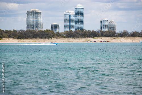 Foto  jet boat ride tour people tourism activity Australia Gold Coast