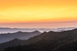 Mountains at sunrise, Elephant Hills, Thong Pha Phum National Park, Kanchanaburi, Thailand