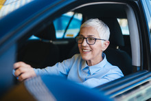 Mature Women At Car