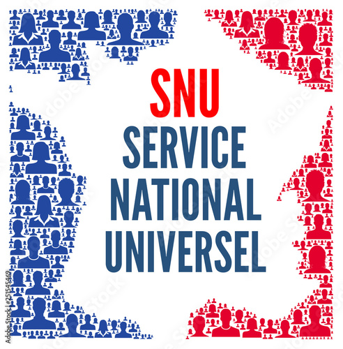 SNU, service national universel Canvas Print