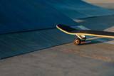 skateboard at a skatepark