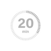 Timer Sign 20 Min