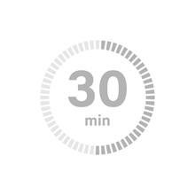 Timer Sign 30 Min