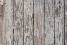 Peeling Painted Wooden Wall Texture Background