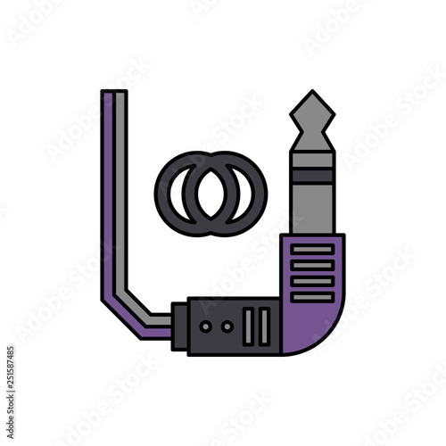 Fotografía  Connector, audio, jack icon