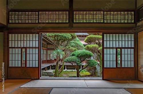 Carta da parati 伝統的日本間の風景