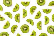 Fruit Pattern Of Kiwi Slices