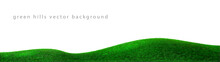 Vector Green Hills Background ...
