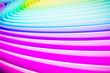 Leinwandbild Motiv abstract colorful background 3D art