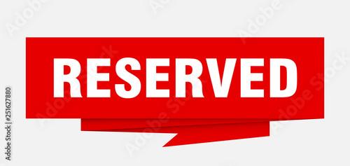reserved Slika na platnu