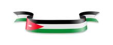 Jordan Flag In The Form Of Wav...