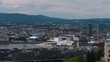 Aerial Norway Oslo June 2018 Sunny Day 90mm Zoom 4K Inspire 2 Prores Aerial video of downtown Oslo in Norway on a beautiful sunny day with a zoom lens.