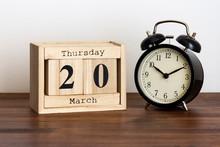 Thursday 20 March