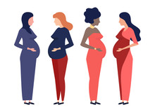 Pregnant Women Of Different Na...