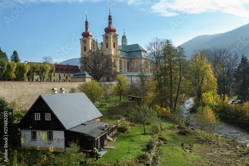 Fotografía  Church in the Hejnice, Czech republic