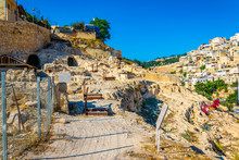 Ruins Of The City Of David In ...
