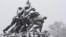 Iwo Jima Memorial In Arlington...