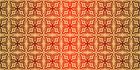 Traditional geometric Ornament. Seamless Vector Pattern. Interior Decoration,...