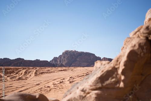 Photo  Wadi Rum Mountains