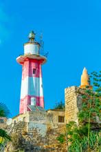 Lighthouse In Jaffa, Tel Aviv,...