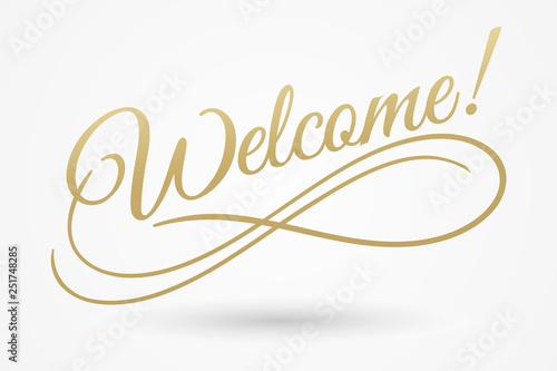 Fotografía  Welcome sign