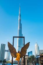 Female Tourist In Dubai, United Arab Emirates