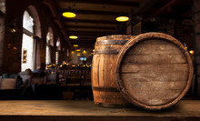Oktoberfest Beer Barrel And Be...