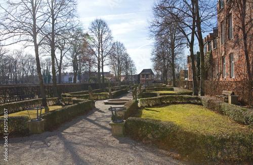 Keuken foto achterwand Hesperidengärten in Nürnberg