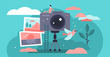 Photographer Vector Illustrati...