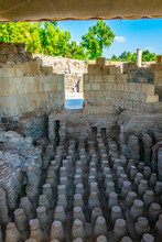 Bathhouse At Beit Shean In Isr...