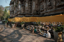 Wat Jed Yod, Old Temple In Chi...