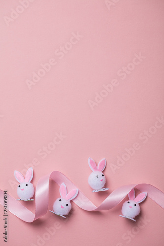 Easter bunny rabbit background