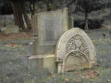 Vandalised Tombstone