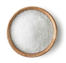 Wooden Bowl Of Sugar