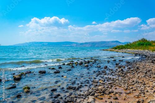 Fotografia Sea of Galilee in Israel