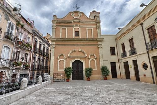 Fotografie, Obraz  Cagliari, Chiesa di Sant'Efisio
