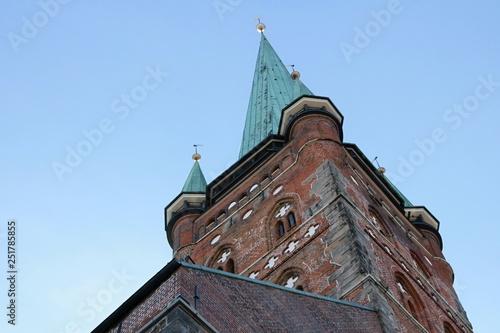 Fotografie, Obraz Lubecca Guglia della chiesa di San Pietro