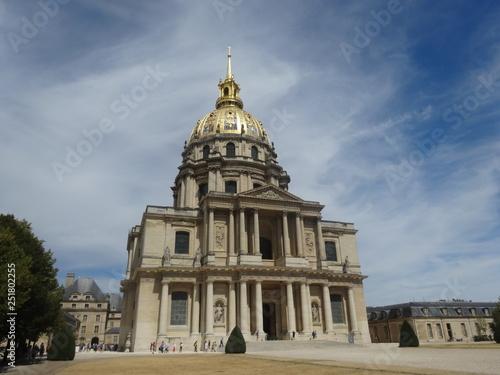 Foto op Plexiglas Historisch geb. ドーム教会、パリ、フランス