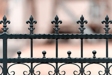 Metal Wrought Iron Fence