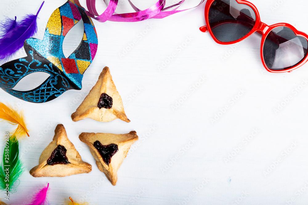 Fototapeta Tradycyjne żydowskie święto. Święto Purim,