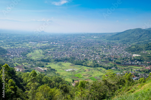 Aerial View Of Forest Nature At Batu Malang City In East Java Indonesia One Of The Best Destination In East Java Buy This Stock Photo And Explore Similar Images At Adobe