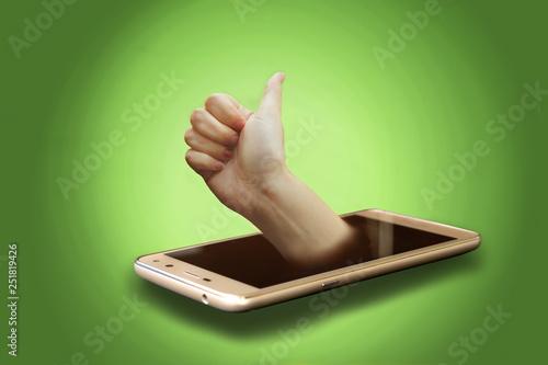 Fotografía  Good choice your mobile phone