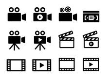 ビデオアイコンセット