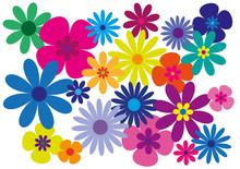 Flowers Wallpaper With Powerful Colors