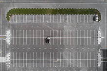 Top View Of The Parking Lot