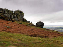 Cow And Calf Rocks At Ilkley M...