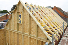 Timber Frame House Roof