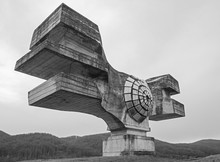 The Monument To The Revolution Of The People Of Moslavina In Bjelovar-Bilogora County, Central Croatia - A Yugoslavia Era World War Two Memorial